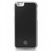 Чехол Mercedes Metallic Plate Hard Case for iPhone 6/6S (MEHCP6BK)