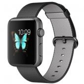 Часы Apple Watch Sport 42mm Space Gray Aluminum Case with Black Woven Nylon (MMFR2)