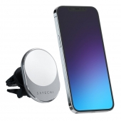 Satechi Magnetic Wireless Car Charger, Space Gray (ST-MCMWCM)