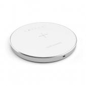 Беспроводное зарядное устройство Satechi Wireless Charging Pad Silver (ST-WCPS)