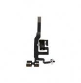 Шлейф аудиоразъема (Flat Cable Audio with HF Connector) iPhone 4s Black/White