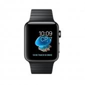 Часы Apple Watch Series 2 38mm Space Black Stainless Steel Case with Space Black Link Bracelet (MNPD2)