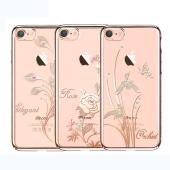 Чехол-накладка KingXBar Swarovski Foliflora Series for iPhone 7