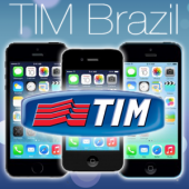 BRAZIL TIM iPhone 2G / 3G / 3GS / 4 / 4S / 5 / 5S / 5C