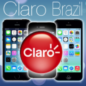 BRAZIL CLARO iPhone 2G / 3G / 3GS / 4 / 4S / 5 / 5S / 5C