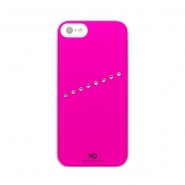 White Diamonds Sash for iPhone 5/5S/SE - Neon Pink (1210SAS50)