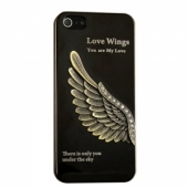 Zippo Hard Case with 3D Eagle Wing for iPhone 5/5S