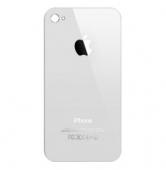 Задняя крышка на iPhone 4 белая (Оригинал)
