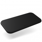 Zens Dual Slim-Line Wireless Charger, Black (ZEDC12B/00)