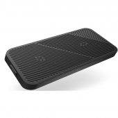 Zens Modular Dual Wireless Charger with Wall Charger, Black (ZEMDC1P/00)