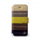 Zenus Prestige Natural Eel Diary Case Multi for iPhone 5/5S