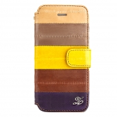 Zenus Prestige Natural Eel Bar Case Multi  for iPhone 5/5S