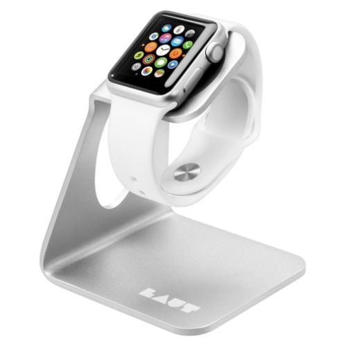 Подставка Laut Watch Stand for Apple Watch Silver (LAUT_AWS_SL)