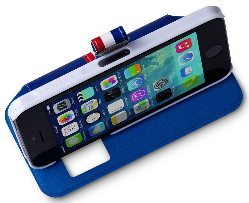 Чехол Momax Stand View European Style Case for iPhone 5/5S