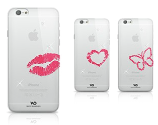 Накладка White Diamonds Lipstick for iPhone 6/6S