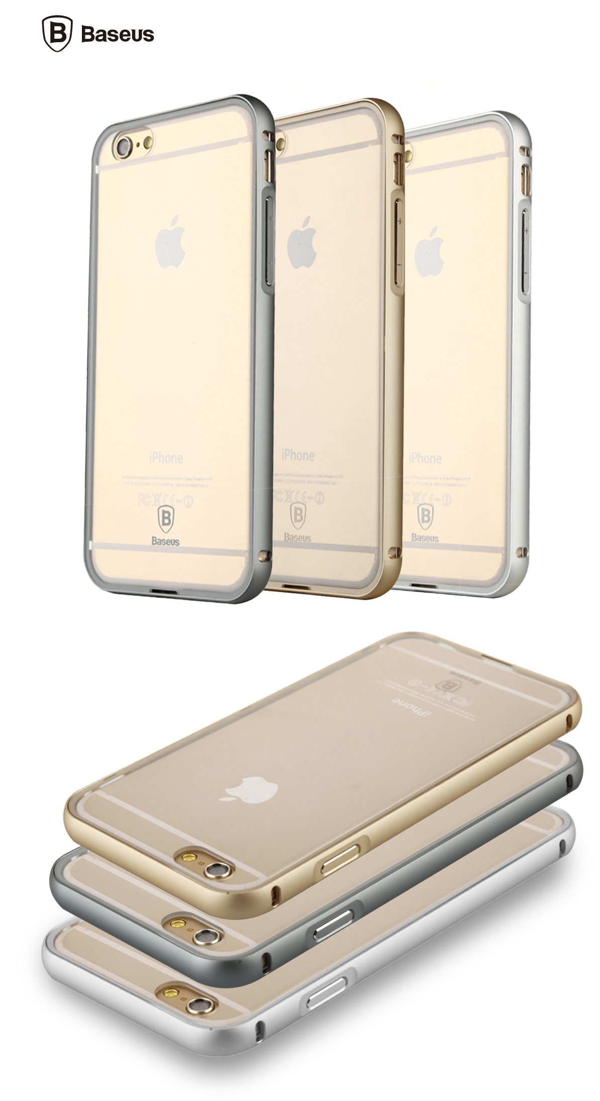 Чехол Baseus Crystal Series Case for iPhone 6/6S