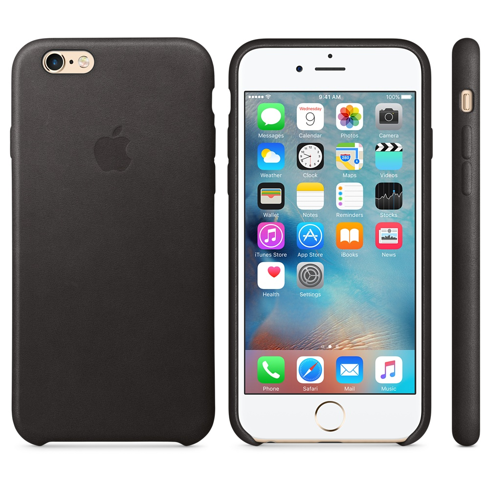 Чехол Apple Leather Case for iPhone 6S