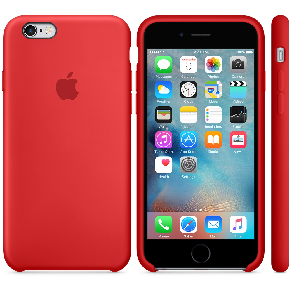 Чехол Apple Silicone Case for iPhone 6S