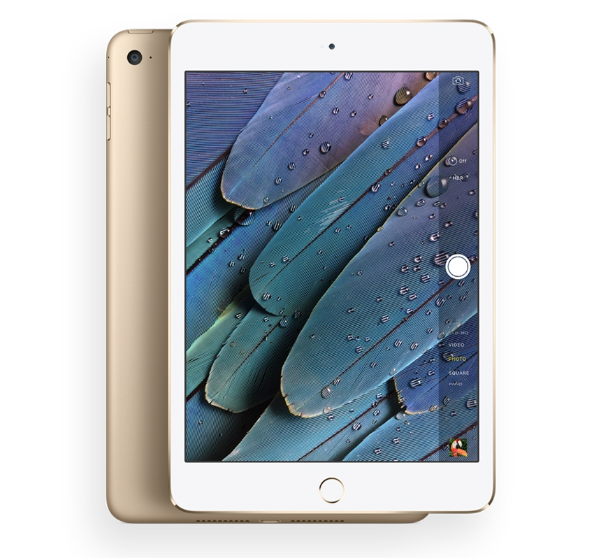 купити Apple iPad mini 4 Wi-Fi 16Gb (Gold)